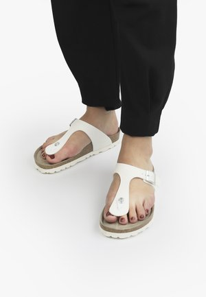 ROSAS - T-bar sandals - weiß