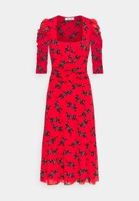 Diane von Furstenberg - ABRA DRESS - Denní šaty - red - 4