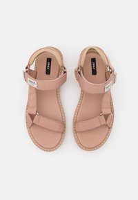 ONLY SHOES - ONLMALU CHUNKY WRAP  - Sandals - light pink - 5