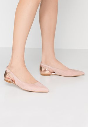 Ballet pumps - nude