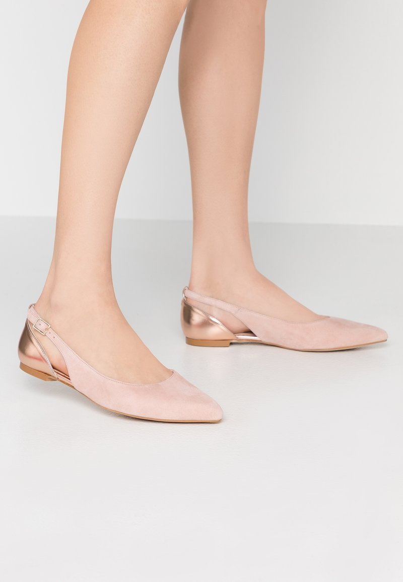 KIOMI Wide Fit - Ballet pumps - nude