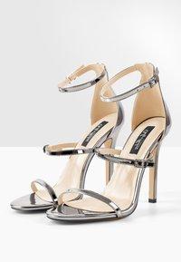 Only Maker - High heeled sandals - silver - 3