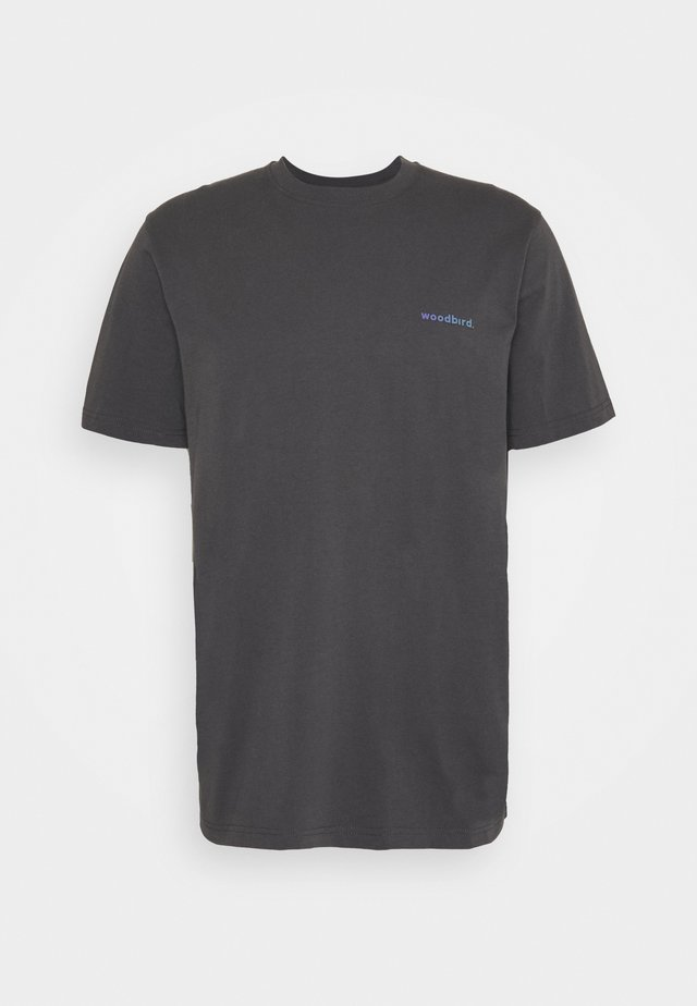 KLIX GRADE TEE - T-shirt print - dark grey