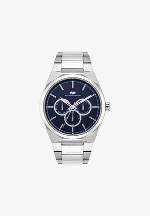 COOLEDGE - Kronografklockor - silver-coloured/dark blue