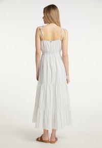 DreiMaster - Maxi dress - weiss grau - 2
