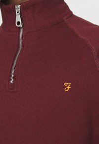 Farah - JIM ZIP - Sweatshirt - farah red marl - 5