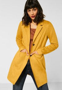 Street One - Classic coat - gelb - 0