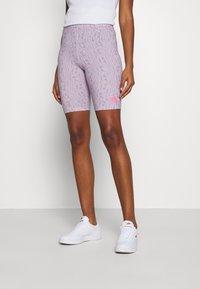 Nike Sportswear - FESTIVAL BIKE  - Kraťasy - iced lilac/digital pink - 0
