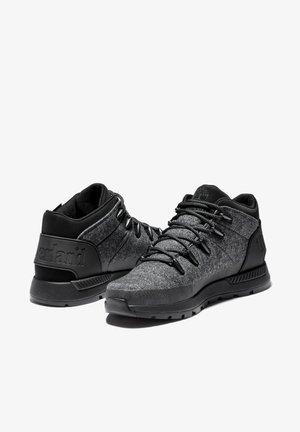 SPRINT TREKKER MID FABRIC WP - Sneakers laag - dk grey schoeller