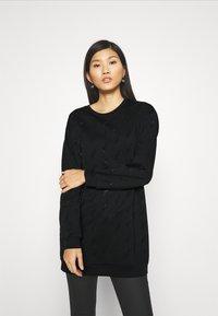Liu Jo Jeans - FELPA CHIUSA - Vestido informal - nero - 0
