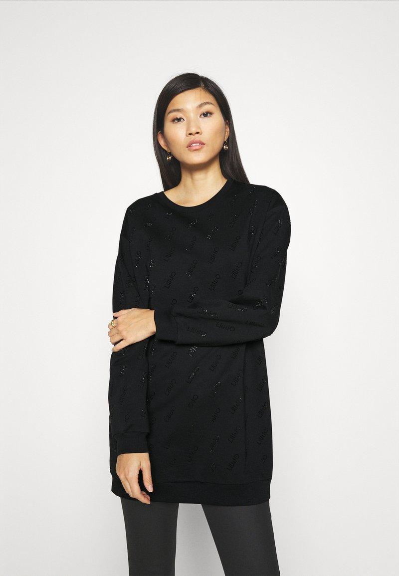 Liu Jo Jeans - FELPA CHIUSA - Vestido informal - nero