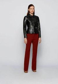 BOSS - Leather jacket - black - 1