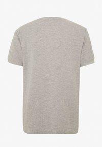 Tommy Jeans - MINI WAFFLE TEE - T-shirt basic - light grey heather - 1