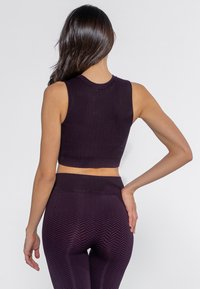 Heart and Soul - Bustino - black/plum - 2