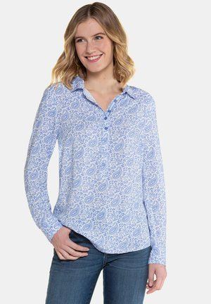 PAISLEYMUSTER - Button-down blouse - pastellblau