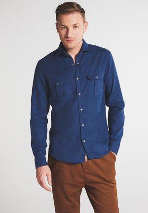 SLIM FIT - Shirt - marine blau