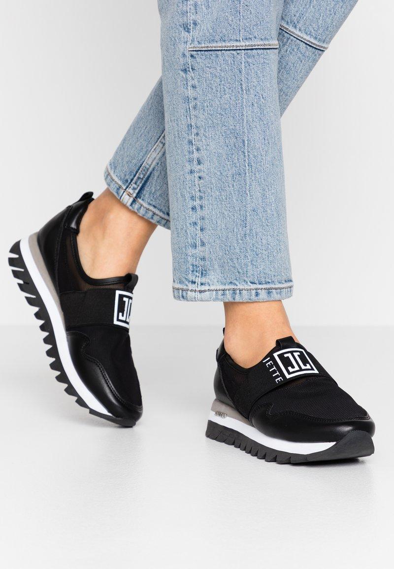 JETTE - Nazouvací boty - black