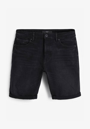 AUTHENTIC VINTAGE - Denim shorts - black