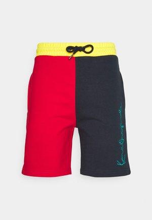 UNISEX ORIGINALS BLOCK SHORTS - Shorts - navy