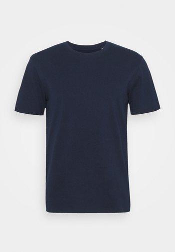 POUR UN MONDE MELLIEUR UNISEX - T-shirt imprimé - navy/white