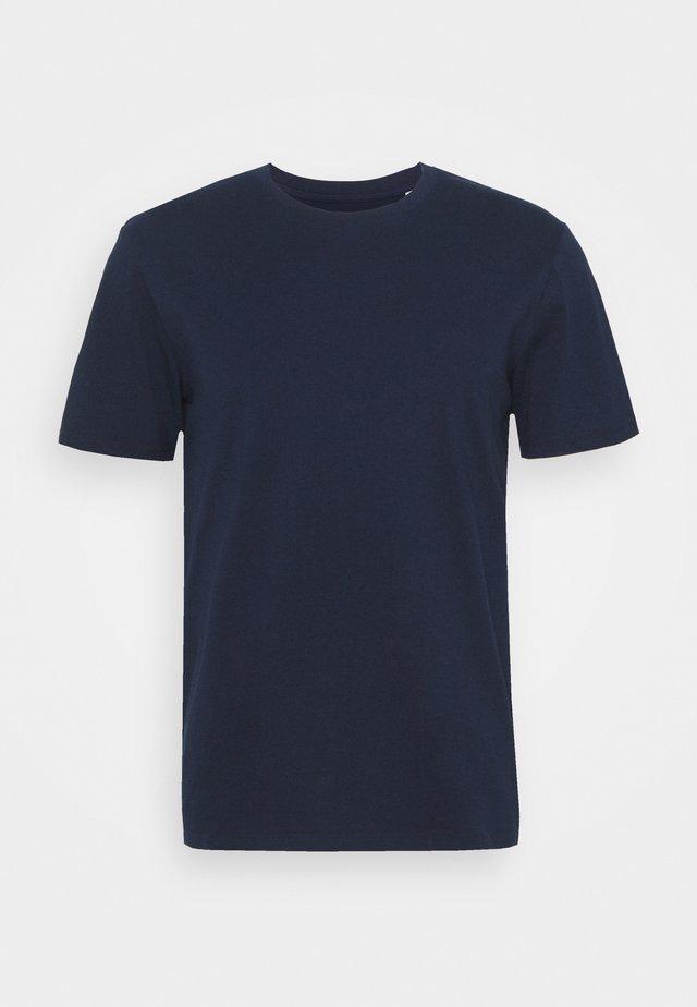 POUR UN MONDE MELLIEUR UNISEX - Print T-shirt - navy/white