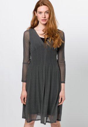 Day dress - dark basil