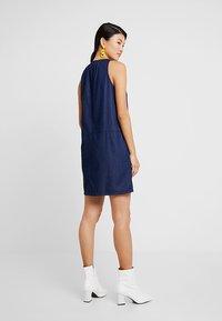 Q/S designed by - Denim dress - dark blue denim - 2