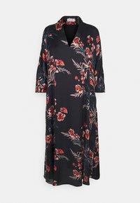 Molly Bracken - LADIES WOVEN DRESS - Maxi dress - dryflowers black - 4