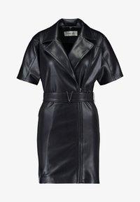 Ivyrevel - BELTED DRESS - Day dress - black - 4