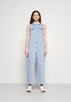 EDEN - Jumpsuit - stone blue