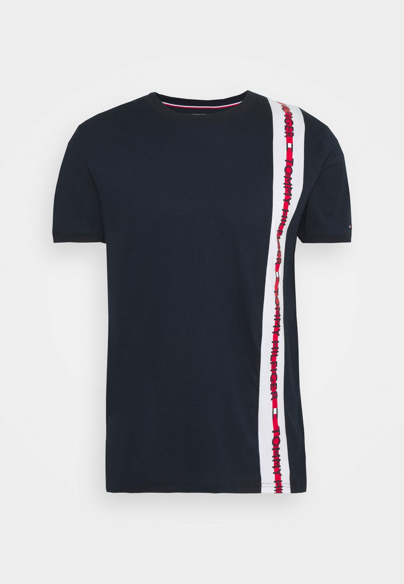 Tommy Hilfiger - NATURE TECH TEE LOGO - Pyžamový top - blue