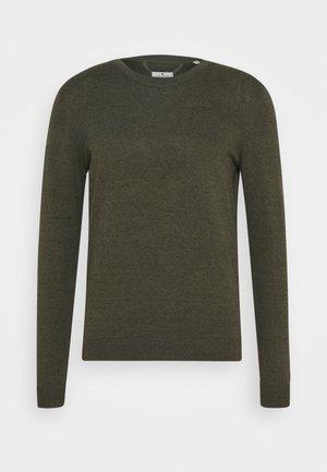 BASIC CREW NECK  - Sweter - olive
