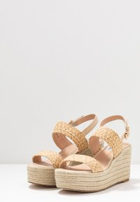 Steve Madden - FOCUSED - High heeled sandals - natural - 4