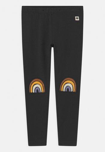 MINI RAINBOW UNISEX - Leggings - Hosen - off black