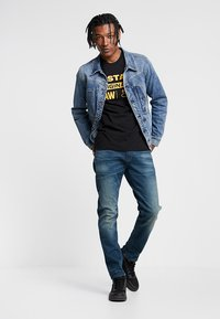 G-Star - 3301 SLIM - Jean slim - medium aged - 1