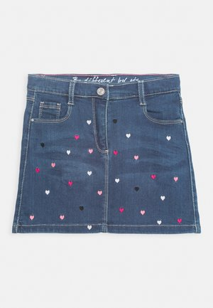 KID - Mini skirt - mid blue denim