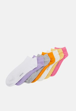 ONLINE SNEAKER 7 PACK UNISEX - Ponožky - chateau rose