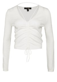 L'urv - DYNAMITE RUCHED  - Jumper - cream - 4