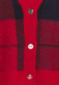 Tommy Hilfiger - ICON CHECK - Vest - red/blue - 2