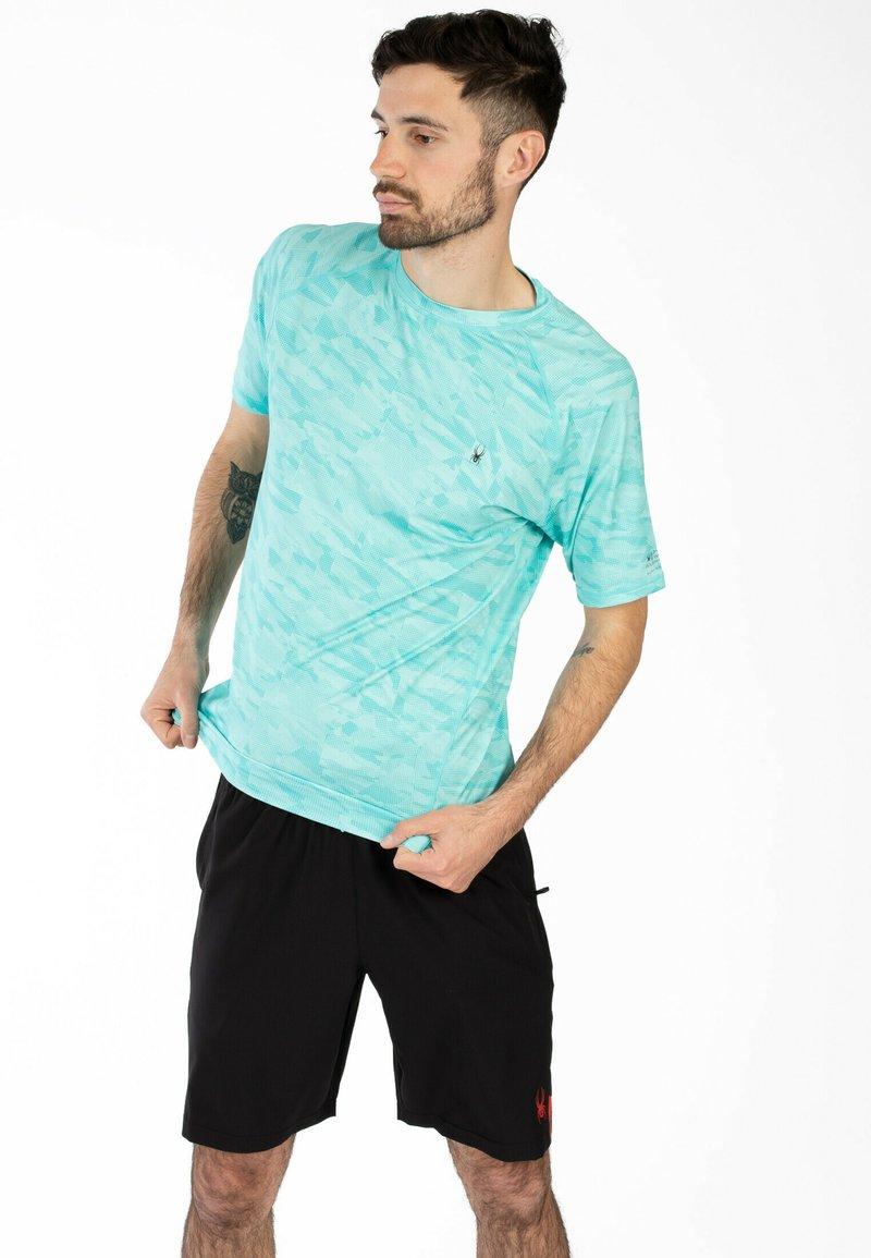 Spyder - Print T-shirt - blue