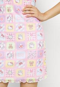 NEW girl ORDER - PATCHWORK BODYCON DRESS - Shift dress - multicoloured - 5