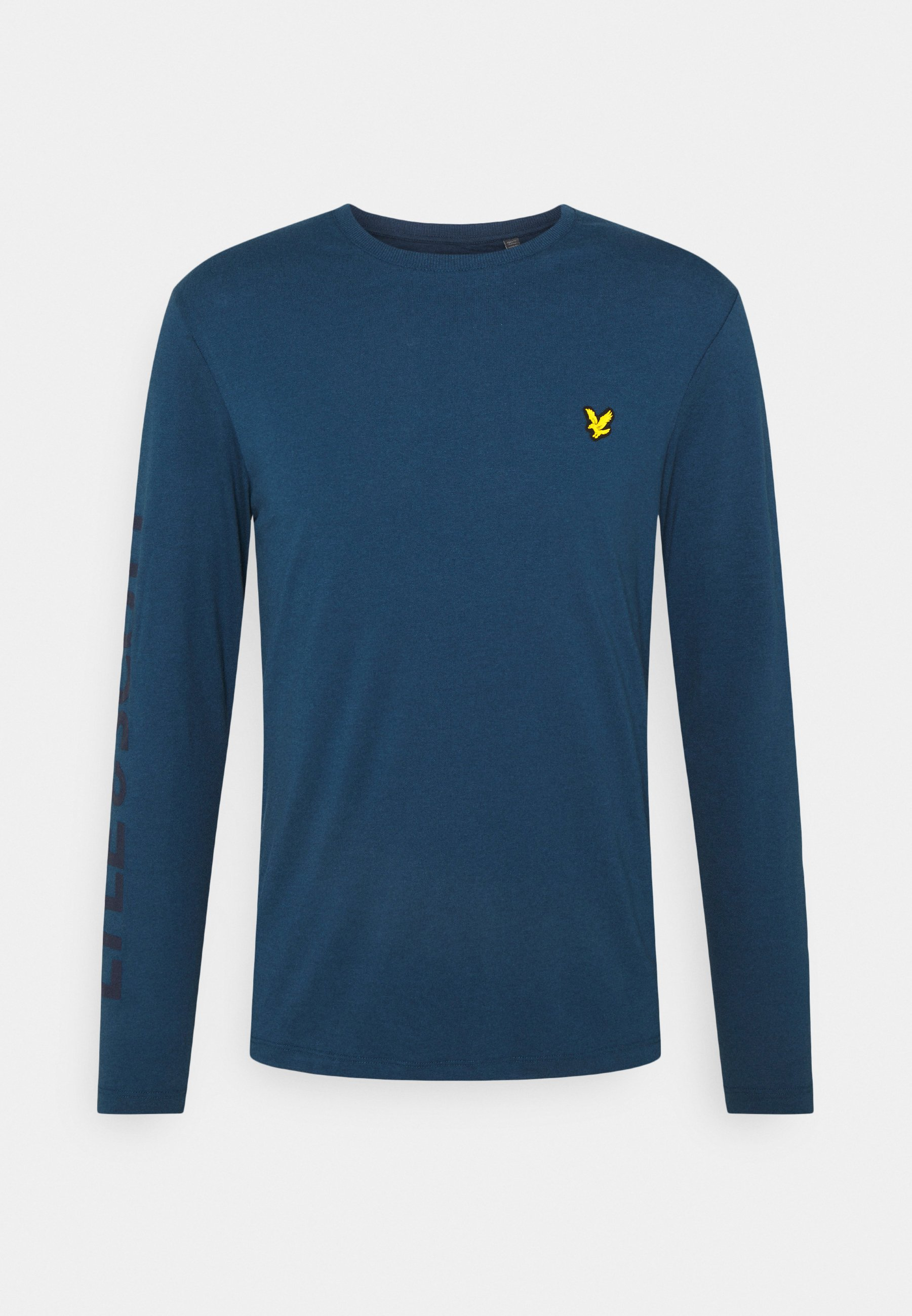Men BASELAYER WITH SLEEVE LOGO - Long sleeved top
