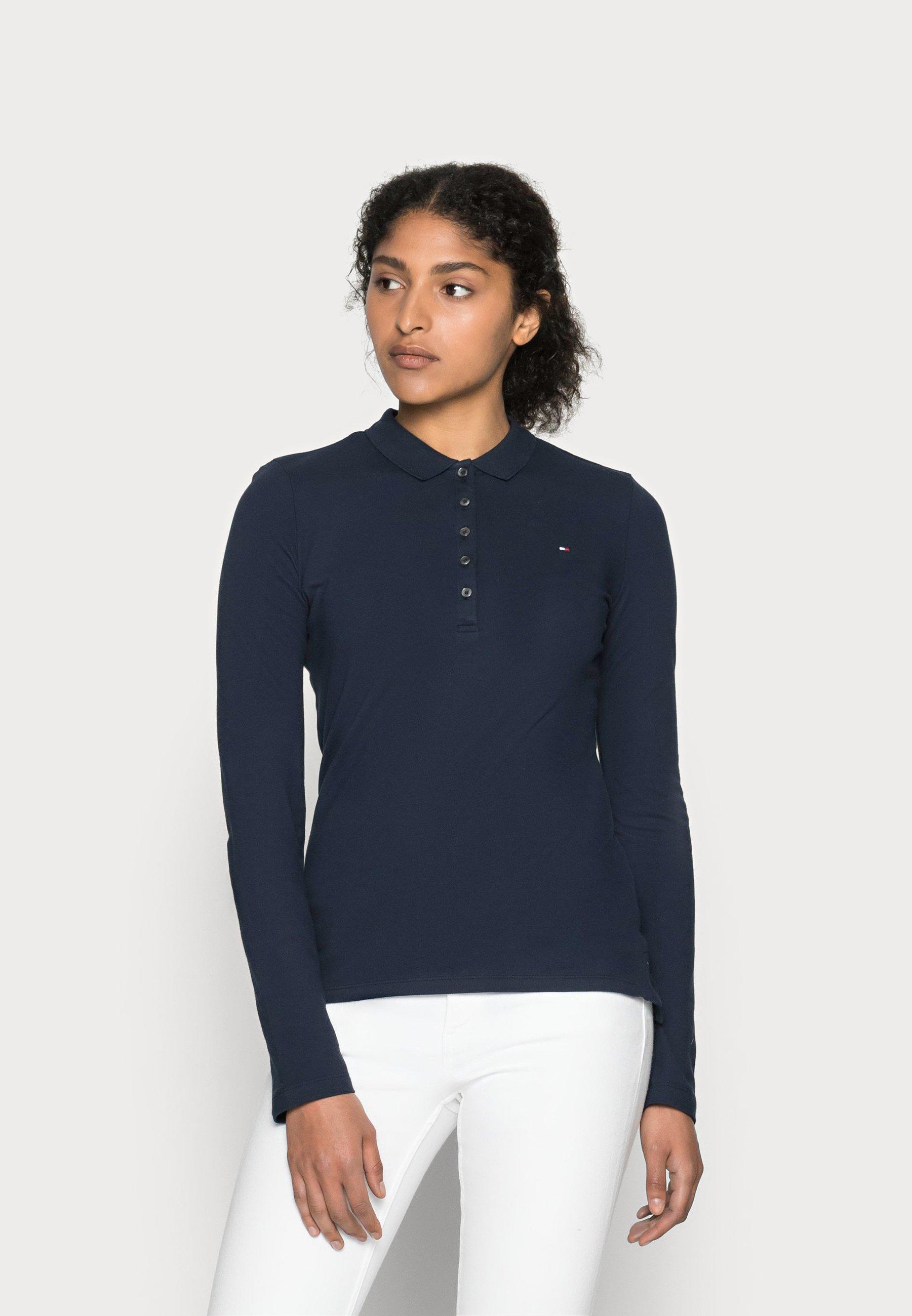Women HERITAGE LONG SLEEVE SLIM  - Polo shirt