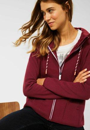 OTTOMAN - Zip-up sweatshirt - braun