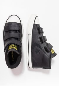 Converse - STAR PLAYER ASTEROID MID - High-top trainers - almost black/black - 0