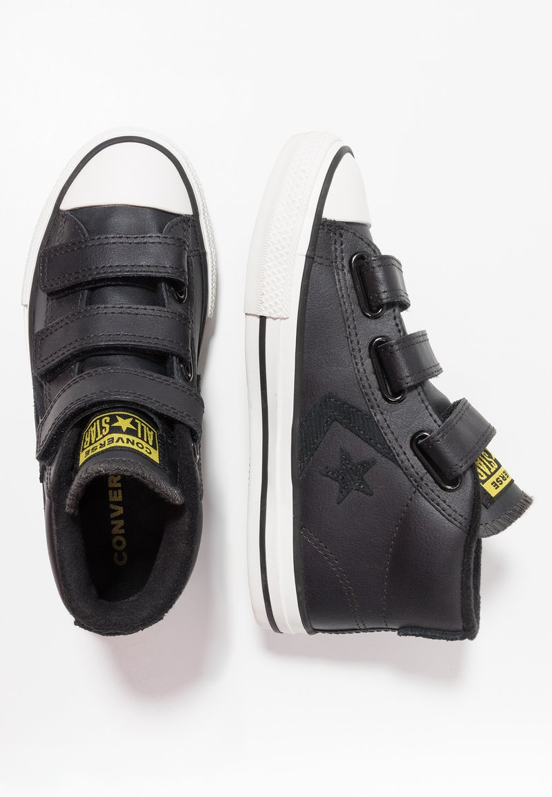 Converse - STAR PLAYER ASTEROID MID - High-top trainers - almost black/black