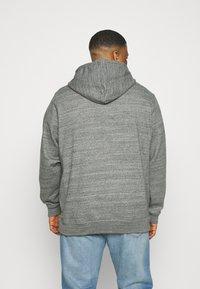 Blend - NORTH - Zip-up hoodie - pewter mix - 2