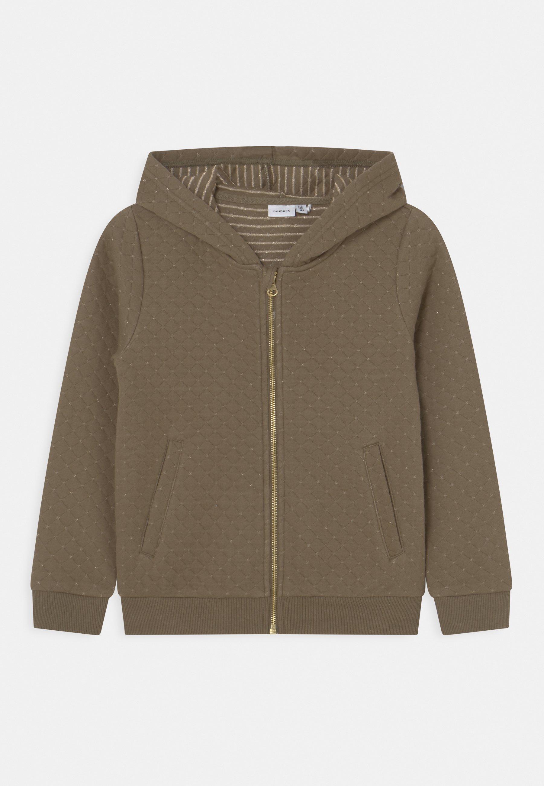 Kids NKFKONNA CARD HOOD - Zip-up sweatshirt