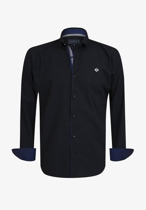 Overhemd - navy-grey