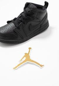 Jordan - 1 MID - Basketbalové boty - black - 6